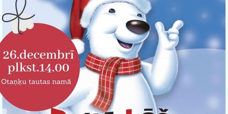 """Ziemassvētku pasākums """"Baltā lāča Ziemassvētki"""""""